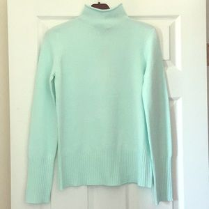 French Connection roll neck jumper fresh aqua S